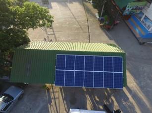 EGCO ติดตั้งโซล่าเซลล์ โรงเรียนสนป่าสัก เชียงใหม่ 2