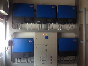ติดตั้ง Inverter SMA & Clustercontroller1