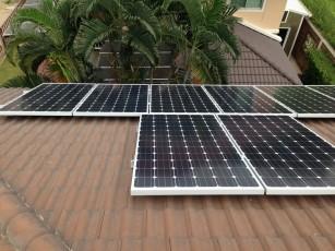 ติดตั้ง solar roof บ้าน คุณรัชบูล 3
