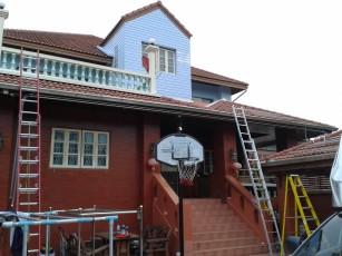 ติดตั้ง RETROOF บ้าน คุณสมชาย 1