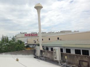 ติดตั้งโซลาร์รูฟโรงงาน NISSAN 1.1