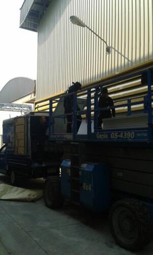 ติดตั้งโซลาร์รูฟโรงงาน STEC 2