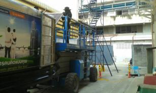 ติดตั้งโซลาร์รูฟโรงงาน STEC 3