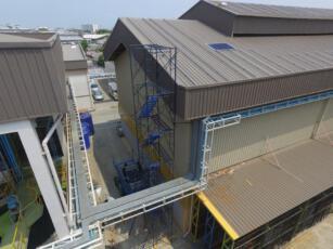 ติดตั้งโซลาร์รูฟโรงงาน STEC 4