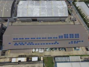 ติดตั้งโซลาร์รูฟโรงงาน STEC 5.5