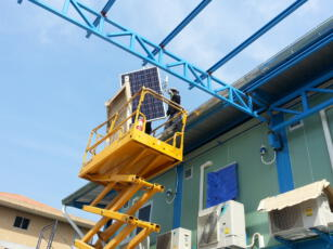 ติดตั้งโซล่ารูฟบนหลังคาโรงงาน HYQ 2