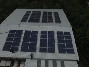 ติดตั้งโซล่ารูฟบนหลังคาโรงงาน HYQ 5